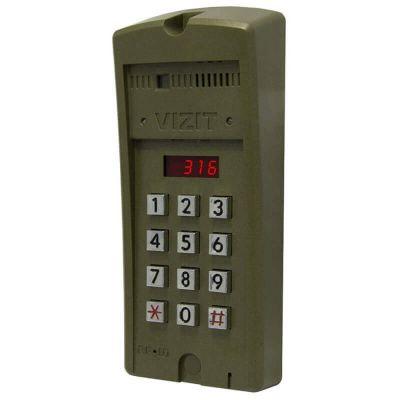 БВД-316RCP, блок вызова домофона