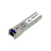 Модуль SFP 1.25G WDM, дальность до 10км, 1310/1550нм, с функцией DDM