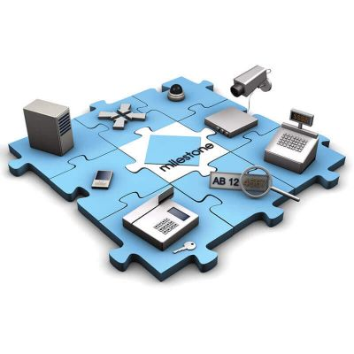Milestone Enterprise YXPECL, лицензия SUP на 1 год модуля подключения камер XProtect Enterprise