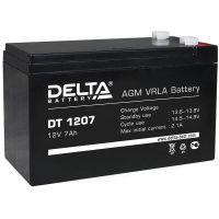 Delta DT 1207, аккумулятор