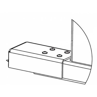 PERCo-RF01 0-07, накладка нижняя