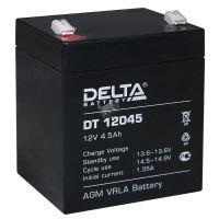 Delta DT 12045, аккумулятор