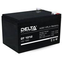 Delta DT 1212, аккумулятор