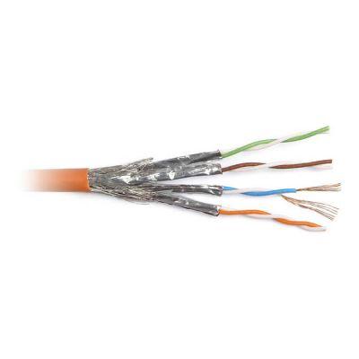 Hyperline SFTP4-C6-P26-IN-PVC-OR-500, кабель витая пара