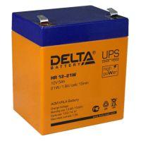 Delta HR 12-21W, свинцово-кислотный аккумулятор