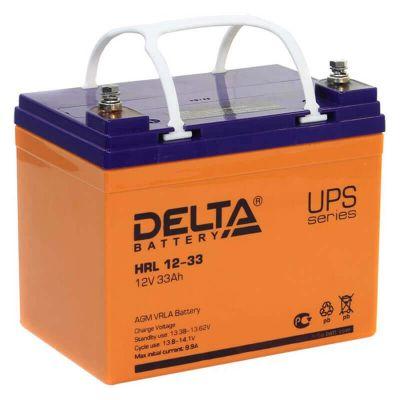 Delta HRL 12-33, свинцово-кислотный аккумулятор