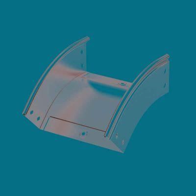 ДКС / DKC 36847, угол CD 45 вертикальный внешний 45° 500х50