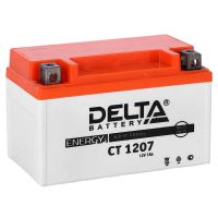 Delta CT 1207, свинцово-кислотный аккумулятор