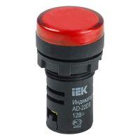 BLS10-ADDS-012-K04, лампа AD22DS(LED) красная