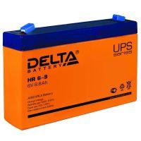 Delta HR 6-9, свинцово-кислотный аккумулятор