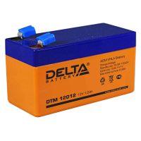 Delta DTM 12012, свинцово-кислотный аккумулятор