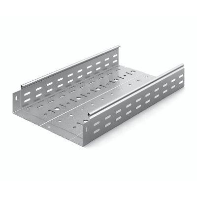 ЛПМЗТ(М)-300х80пр, лоток металлический перфорированный 300х80х2500