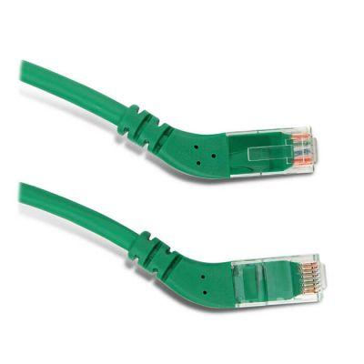 Hyperline PC-APM-STP-RJ45/L45-RJ45/L45-C6-1M-LSZH-GN, патч-корд