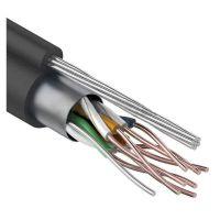FTP 4PR 24AWG CAT5e OUTDOOR + ТРОС*7, кабель комбинированный
