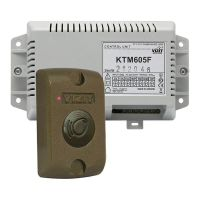VIZIT-КТМ605F, контроллер ключей RF