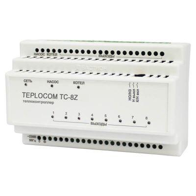 TEPLOCOM TC-8Z, теплоконтроллер