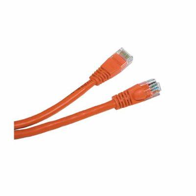 Hyperline PC-LPM-STP-RJ45-RJ45-C6-0.5M-LSZH-OR, патч-корд