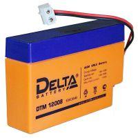 Delta DTM 12008, свинцово-кислотный аккумулятор