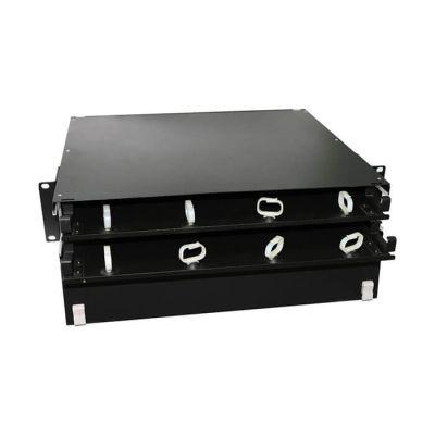 Hyperline FO-19BX-2U-D1-6xSLT-W120H32-EMP, патч-панель универсальная