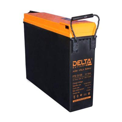 Delta FTS 12-125, свинцово-кислотный аккумулятор