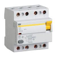 MDV11-4-025-030, выключатель дифференциальный (УЗО) ВД1-63