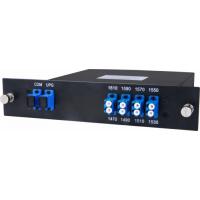 Мультиплексор CWDM одноволоконный 4-х канальный, (trx:1610-1550, 1470-1530), Monitor, UPG